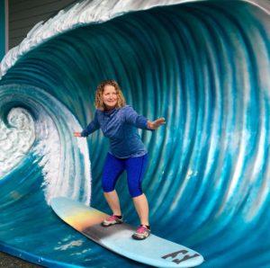 Tammy Martin of Aquabike Newbie and Leap n2u fitness