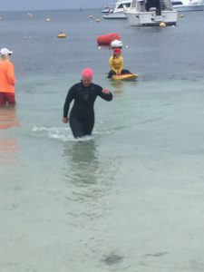 Tammy Martin's first half ironman aquabike and rookie mistakes